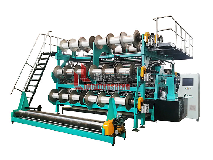 GE2812-High Speed Double Needle-bar Warp Knitting Machine (RD)